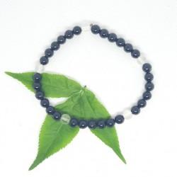 Bracelet d'AMETHYSTE et d'HEMATITE