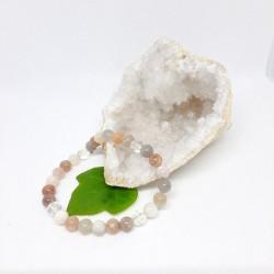 Bracelet de Pierre de lune, Cristal de roche
